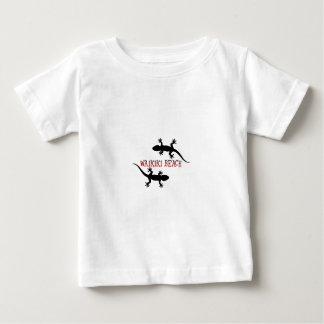Camiseta De Bebé playa Hawaii del waikiki