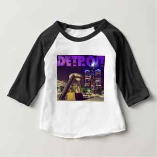Camiseta De Bebé Plaza del ciervo de Detroit