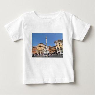 Camiseta De Bebé Plaza Navona en Roma, Italia