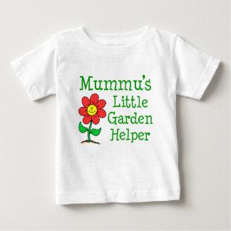 Camiseta De Bebé Poco ayudante del jardín de Mummu