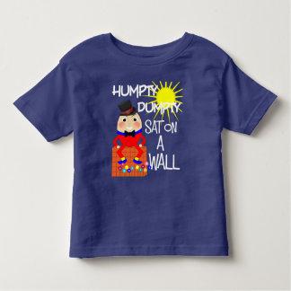 Camiseta De Bebé Poesía infantil alegre Humpty Dumpty de la