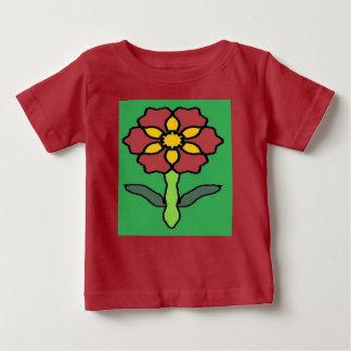 Camiseta De Bebé Poinsettia bonito