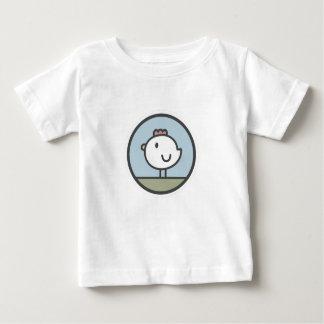 Camiseta De Bebé Pollo libre de la gama