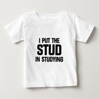 Camiseta De Bebé Ponga el perno prisionero en estudiar
