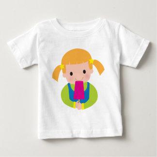 Camiseta De Bebé Popsicle de la niña