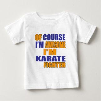 Camiseta De Bebé Por supuesto soy combatiente del karate