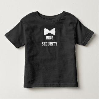 Camiseta De Bebé Portador de anillo de la seguridad del anillo