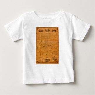 Camiseta De Bebé Potsdam Nueva York 1853