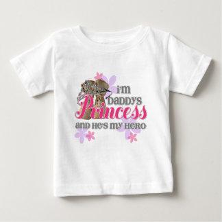 Camiseta De Bebé Princesa de Daddys