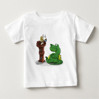 Camiseta De Bebé Princesa del dibujo animado que toca un banjo