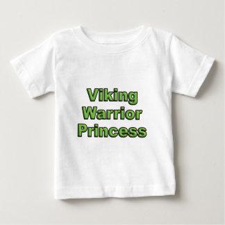 Camiseta De Bebé Princesa del guerrero de Viking