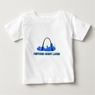 Camiseta De Bebé Producto histórico del logotipo del Saint Louis
