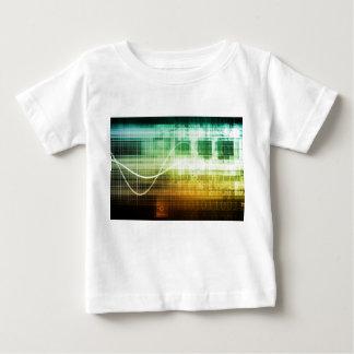 Camiseta De Bebé Protección de datos y exploración de la seguridad