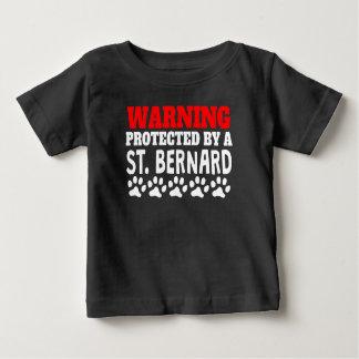 Camiseta De Bebé Protegido por un St Bernard