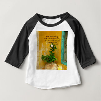 Camiseta De Bebé proverbio del Griego de la cita del amor del