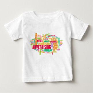 Camiseta De Bebé Publicidad en línea y en método tradicional de los