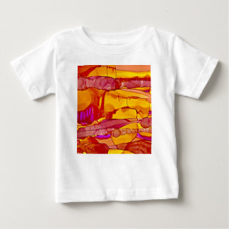 Camiseta De Bebé Puesta del sol en el horizonte