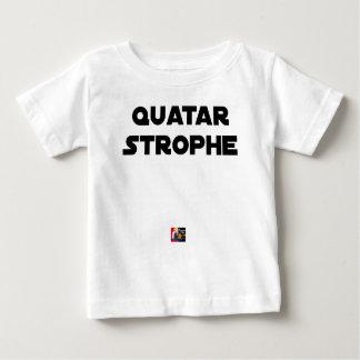 Camiseta De Bebé QUATAR ESTROFA - Juegos de palabras - Francois