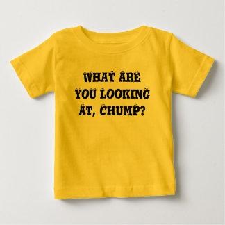 Camiseta De Bebé ¿Qué usted está mirando?