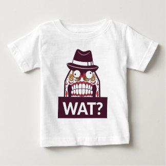 Camiseta De Bebé qué wat los dientes asustadizos diseñan