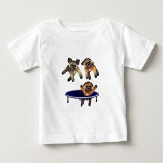 Camiseta De Bebé quién dejó los barros amasados hacia fuera