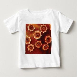 Camiseta De Bebé racimo de flor rojo