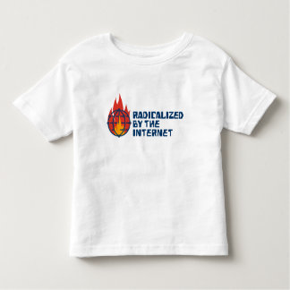Camiseta De Bebé Radicalizado por el Internet (para los niños!)