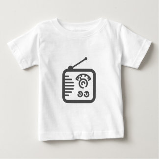 Camiseta De Bebé Radio