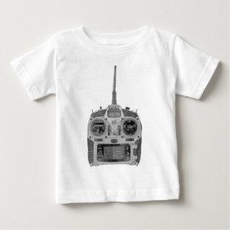Camiseta De Bebé Radio de Spektrum RC del bosquejo del lápiz