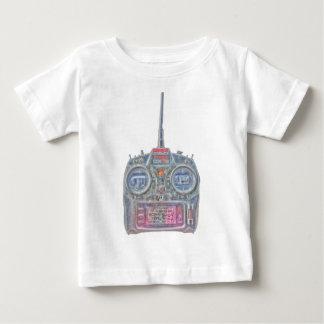 Camiseta De Bebé Radio de Spektrum RC del chulo del purpurina