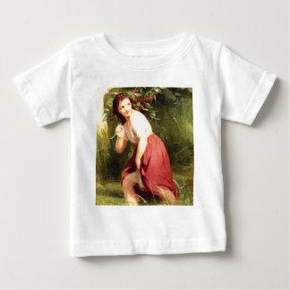 Camiseta De Bebé rama de la cereza del asimiento de los chicas