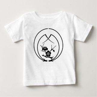 Camiseta De Bebé Rama de Ume en agujas del pino del abarcamiento