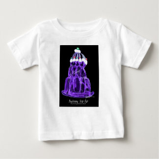 Camiseta De Bebé rata del jello del arándano de los fernandes tony