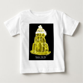 Camiseta De Bebé rata del jello del plátano de los fernandes tony