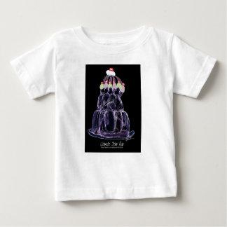 Camiseta De Bebé rata del jello del regaliz de los fernandes tony