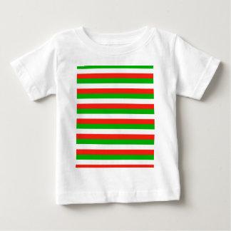 Camiseta De Bebé rayas de la bandera de País de Gales