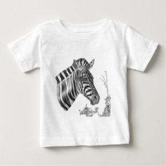 Camiseta De Bebé Rayas del diseñador