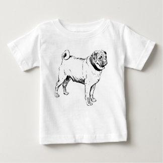Camiseta De Bebé Raza del perro del barro amasado