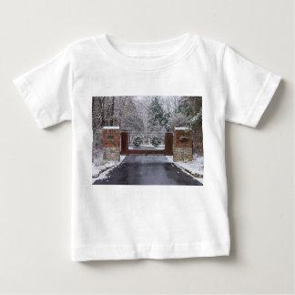 Camiseta De Bebé Recepción al invierno