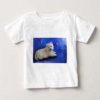 Camiseta De Bebé Reclinación de Westie
