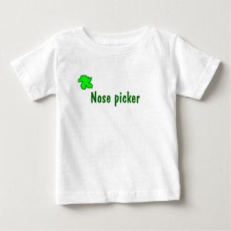 Camiseta De Bebé Recogedor de la nariz