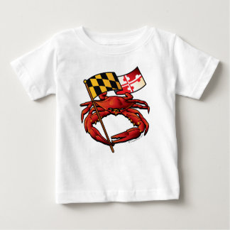 Camiseta De Bebé RedCrab_MD_banner.ai