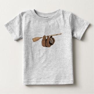 Camiseta De Bebé Reduzca el paseo - pereza en la escoba del vuelo