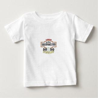 Camiseta De Bebé reduzca la custodia automática 50 50 de los