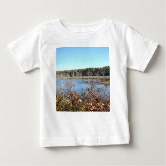 Camiseta De Bebé Refugio de aves del lago sams