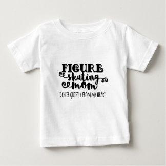 Camiseta De Bebé Regalo de la mamá del patinaje artístico