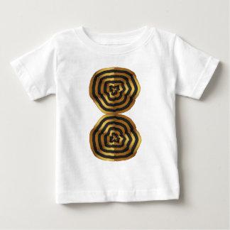 Camiseta De Bebé regalos de oro de la VAINA de la onda de los