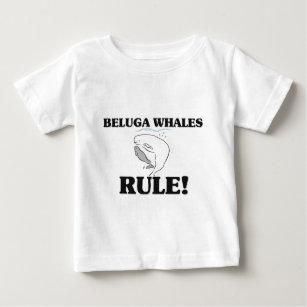 da9867e29 Camiseta De Bebé ¡Regla de las BALLENAS de la BELUGA!
