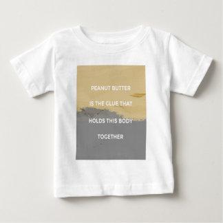 Camiseta De Bebé Reglas de la mantequilla de cacahuete