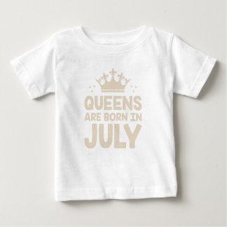 Camiseta De Bebé Reina de julio